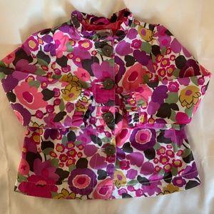 OshKosh B'gosh Girl's Floral Jacket